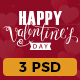 Valentines Day Shopping PSD Newsletter