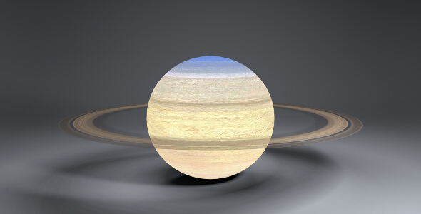 Saturn 4k Globe - 3DOcean Item for Sale
