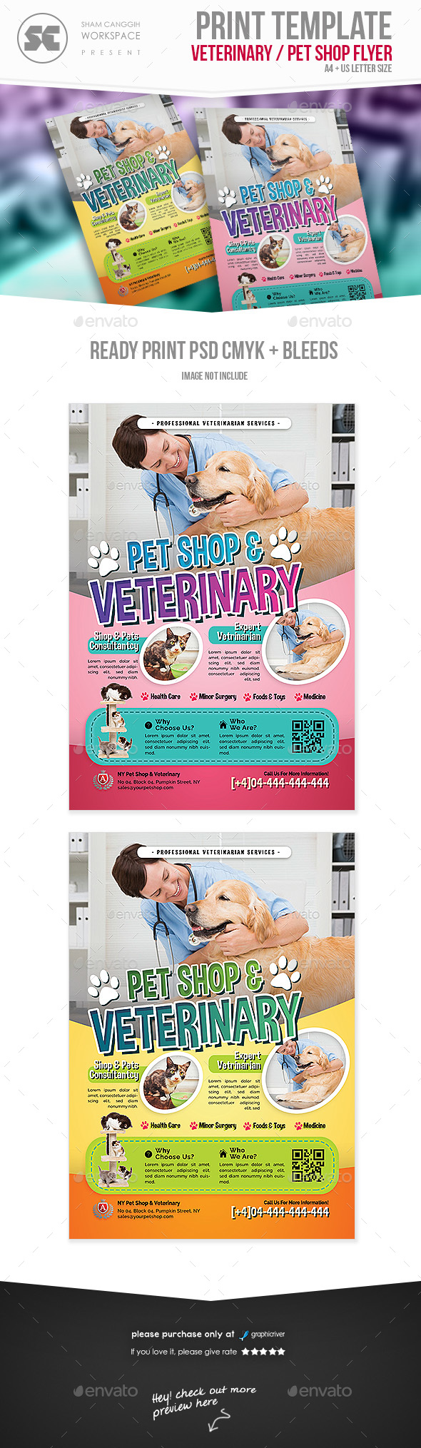 Pet Shop / Veterinary Flyer - Miscellaneous Events