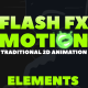 FLASH FX MOTION - Traditional 2d Animated Elements - VideoHive Item for Sale