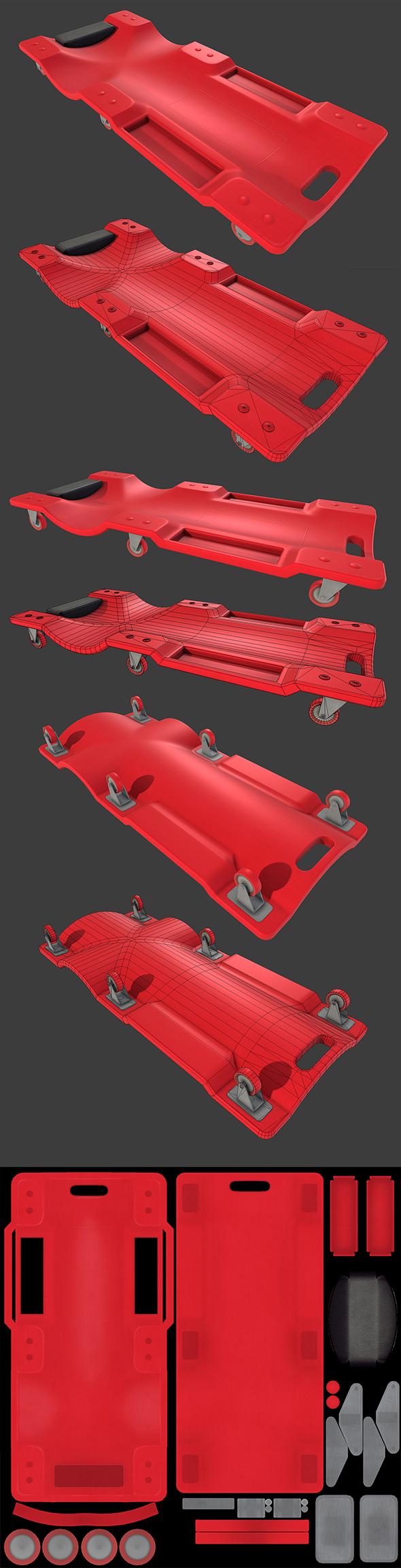 Car Creeper - 3DOcean Item for Sale