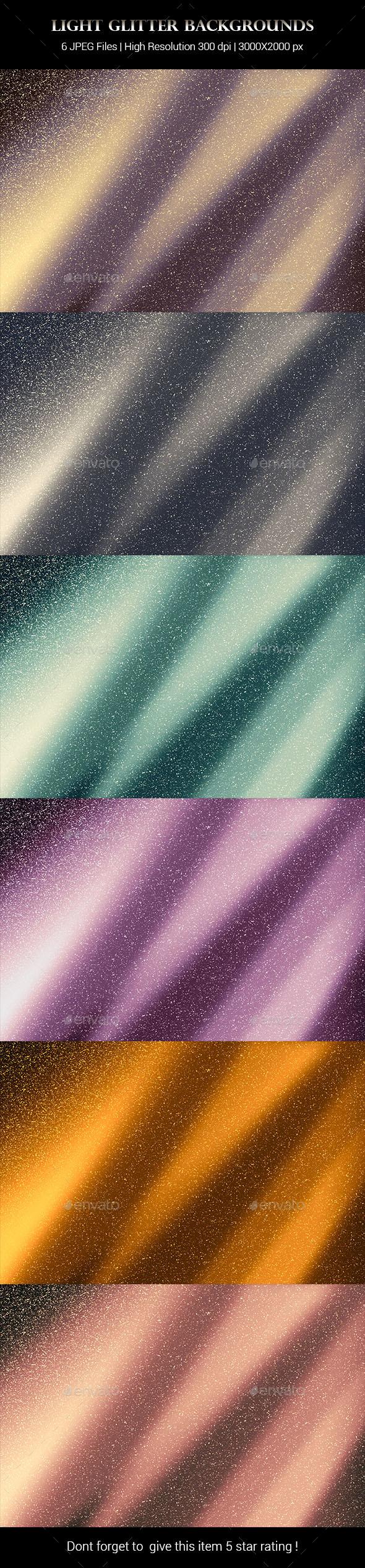 Light Glitter Backgrounds