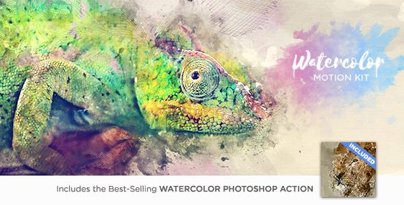 Watercolor Motion Kit - 17286607