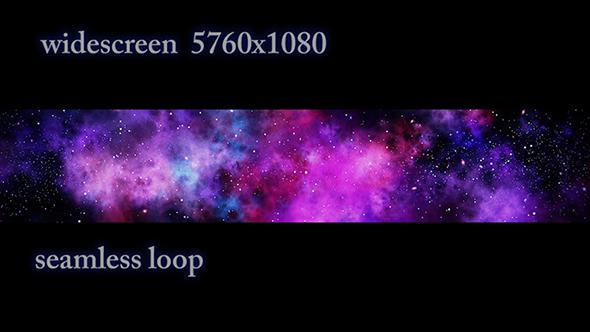 VideoHive Widescreen Galactic Nebula 21231798
