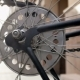 Toned Footage of Spinning Wheel of Old Bicycle - VideoHive Item for Sale