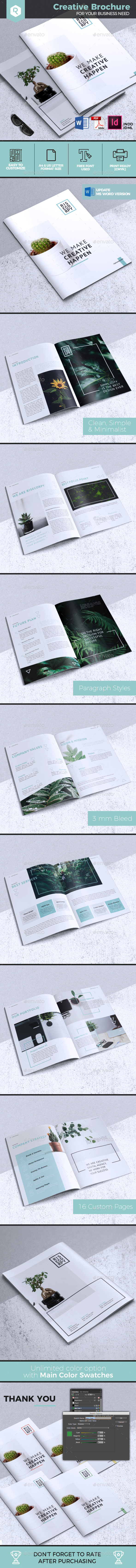 Creative Brochure Template Vol. 33 - Corporate Brochures