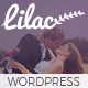 Lilac - One-page Wedding WordPress Theme