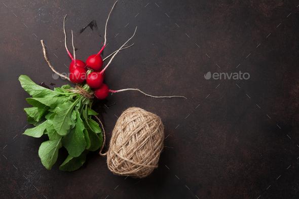 Garden radish - Stock Photo - Images