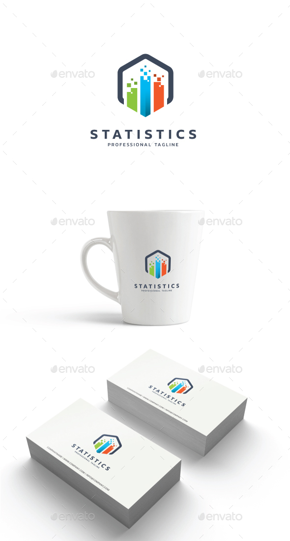 Statistics Logo - Abstract Logo Templates