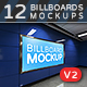 +12 Subway Billboards Mock-ups V2