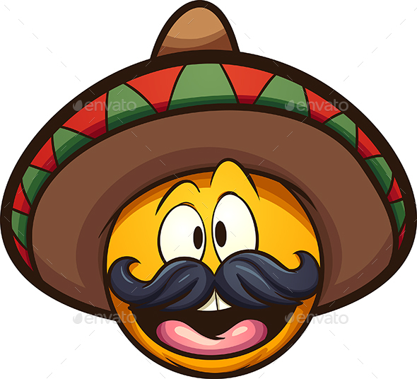 Mexican Emoticon - People Characters