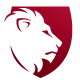 Crest Shield Lion Logo
