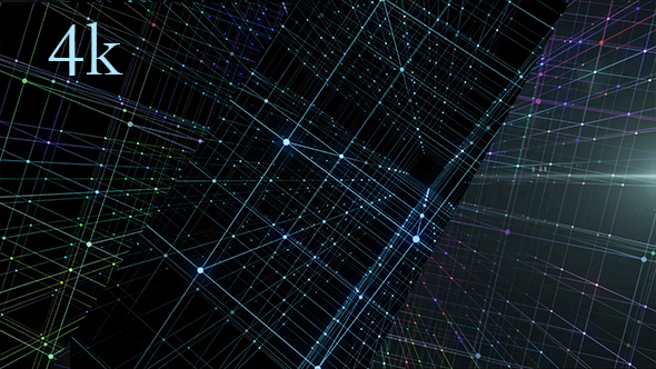 VideoHive Hologram Network Background 21233202