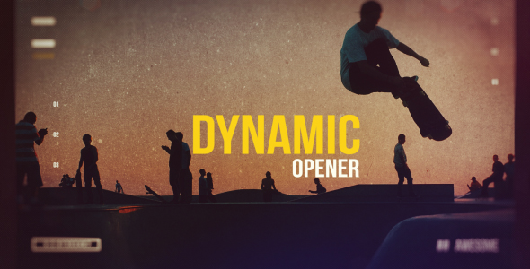 VideoHive Dynamic Opener 21233216