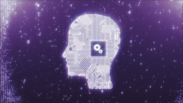 Circuit Board Head As a Symbol of Thinking Process by dr911 | VideoHive