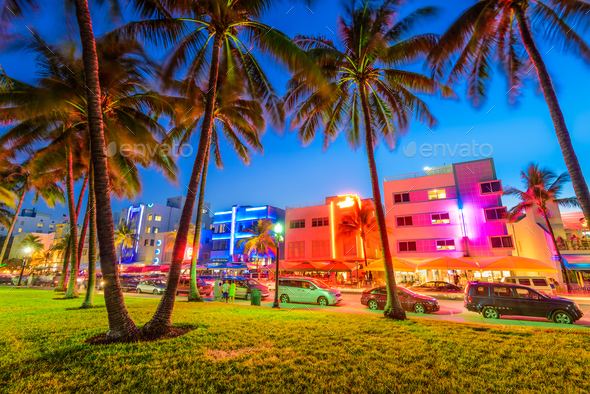 Miami Beach Florida - Stock Photo - Images