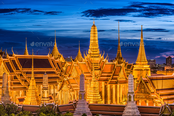 Bangkok Thailand Skyline - Stock Photo - Images