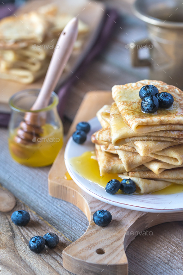 Crepes - Stock Photo - Images