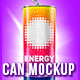 Energy Drink / Soca Can Mockup - GraphicRiver Item for Sale