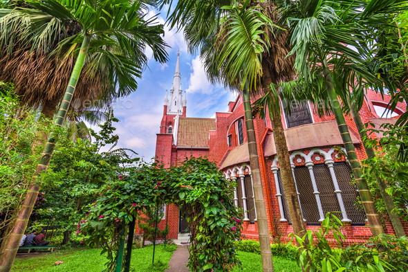Church in Yangon - Stock Photo - Images