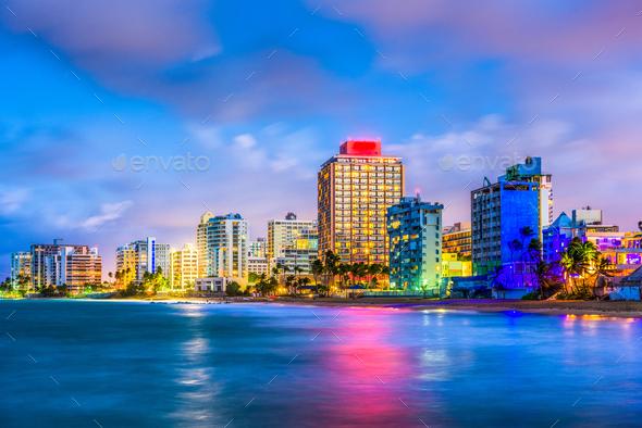 Condado Beach Puerto Rico - Stock Photo - Images