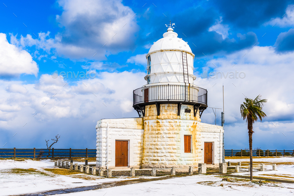 Rokkozaki Lighthouse - Stock Photo - Images