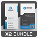 Business Card Bundle 47 - GraphicRiver Item for Sale