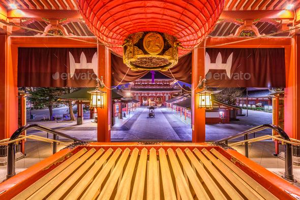 Sensoji Temple - Stock Photo - Images