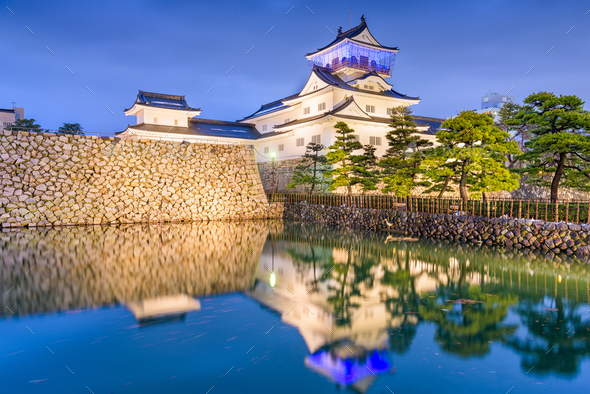 Toyama Castle, Japan - Stock Photo - Images