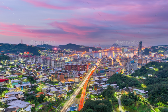 Keelung City, Taiwan - Stock Photo - Images