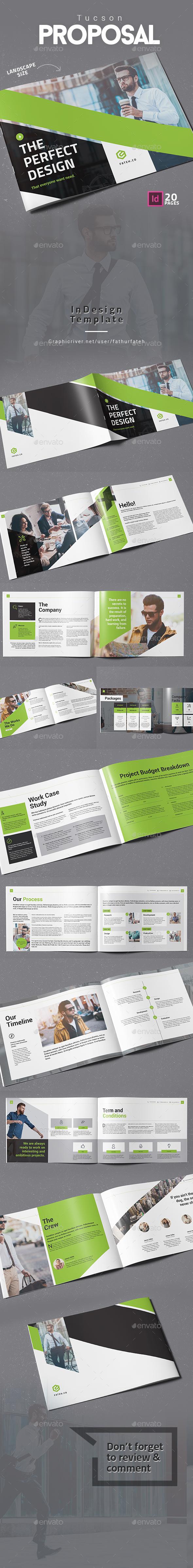 Tucson Proposal Landscape - Corporate Brochures