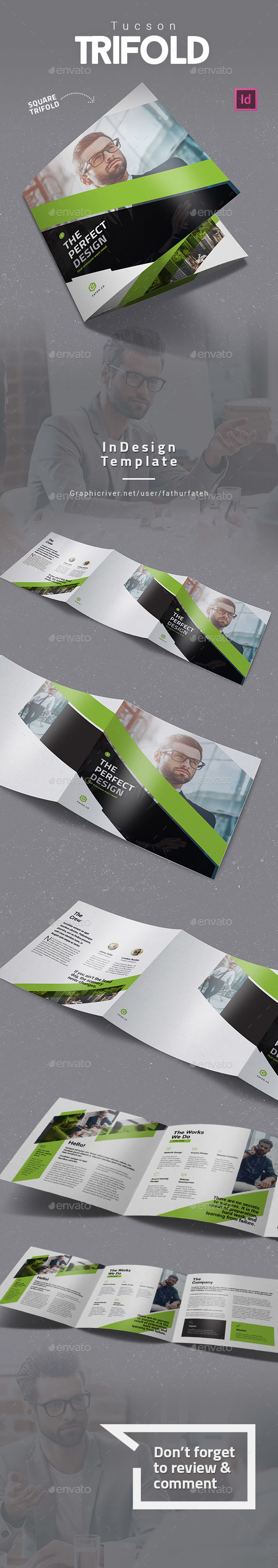 Tucson Square Trifold - Corporate Brochures
