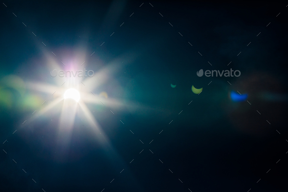 Sun eclipse view - Stock Photo - Images