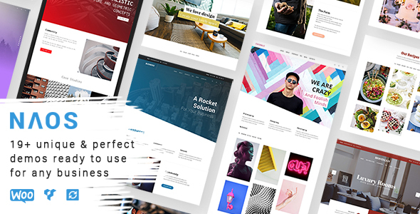 Naos - Universal and Advanced WordPress Theme - Creative WordPress