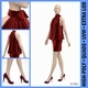 Velvet Cocktail Party Dress on Female Mannequin - 3DOcean Item for Sale