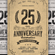 Vintage Anniversary Celebration - GraphicRiver Item for Sale