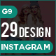 Instagram Bundle - 29 Design - GraphicRiver Item for Sale