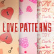 3 Love Patterns. Valentine's Day. - VideoHive Item for Sale