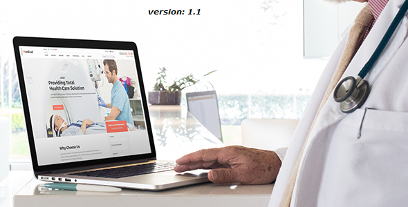 Image of Medical - Health Drupal 8 Theme