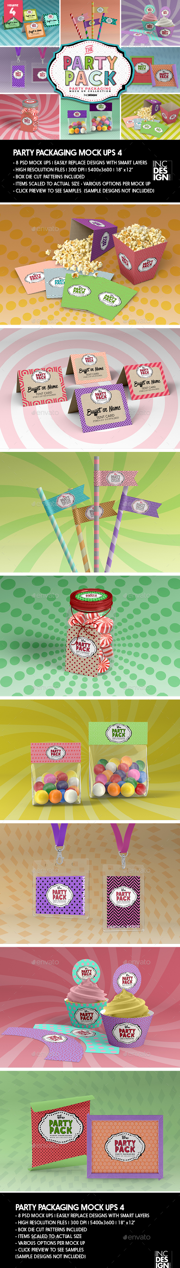 The Party Pack Packaging MockUps 4 - Miscellaneous Packaging