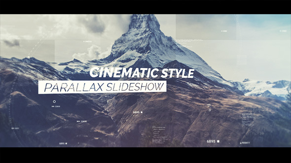 VideoHive Cinematic Slideshow 21234942