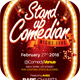 Comedian Night Live Flyer Template
