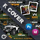Camping Adventure Cover Templates - GraphicRiver Item for Sale