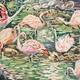 batik painting of flamingos - PhotoDune Item for Sale
