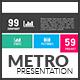 Metro Premium Presentation Keynote