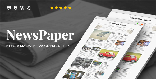 NewsPaper - News & Magazine WordPress Theme - News / Editorial Blog / Magazine