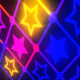 Stars Neon Flashing - VideoHive Item for Sale