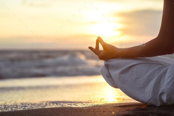 Meditating - Stock Photo - Images