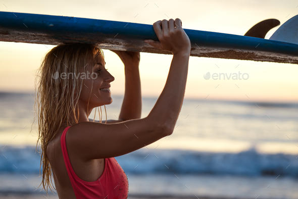 Sporty girl - Stock Photo - Images