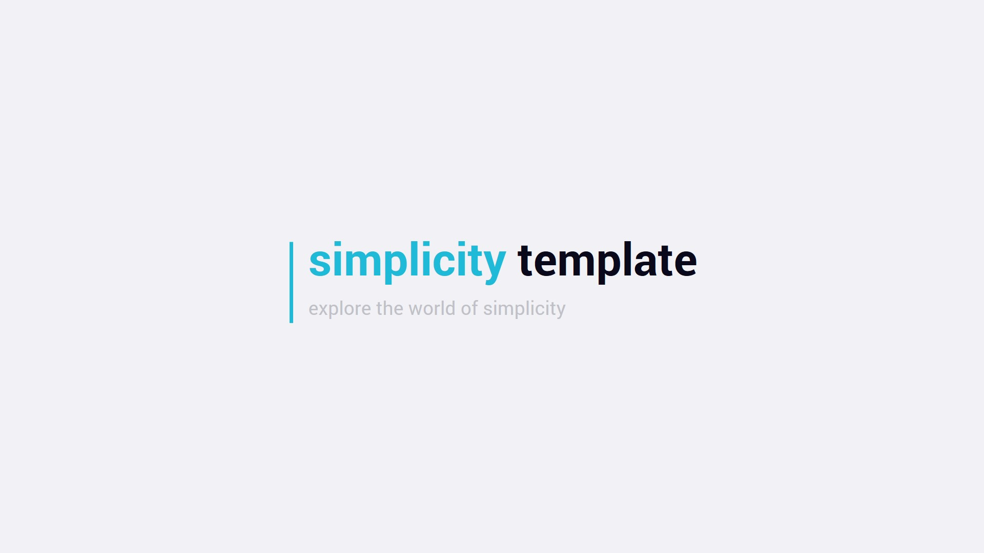 Simplicity 2.0 – Premium and Easy to Edit Template by SMART_Point ...